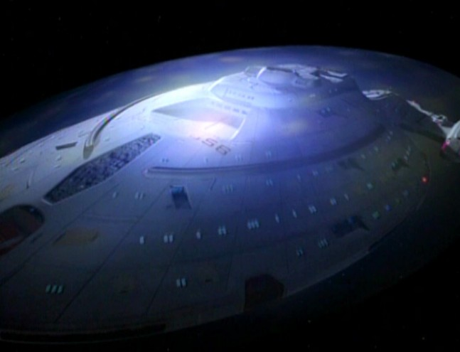 Star Trek Voyager shields up Paramount Pictures image posted on SpaceFlight Insider