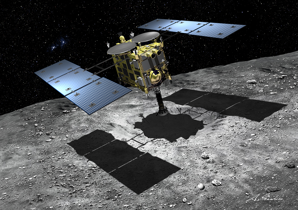 """""""Asteroid Explorer"""" Hayabusa 2 successfully launches ..."""