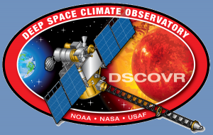 NASA NOAA DSCVR logo image posted on SpaceFlight Insider