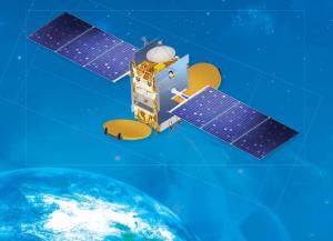 Artist concept of the GSAT-16. Image Credit: ISRO as seen on Spaceflight Insider