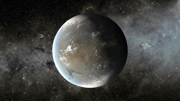 Kepler-62f is about 40 percent larger than Earth and was discovered by Kepler, as seen on Spaceflight Insider.