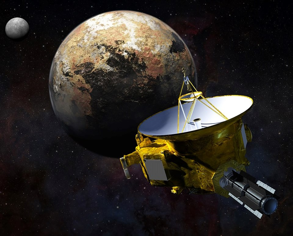 flyby spacecraft and pluto - photo #9