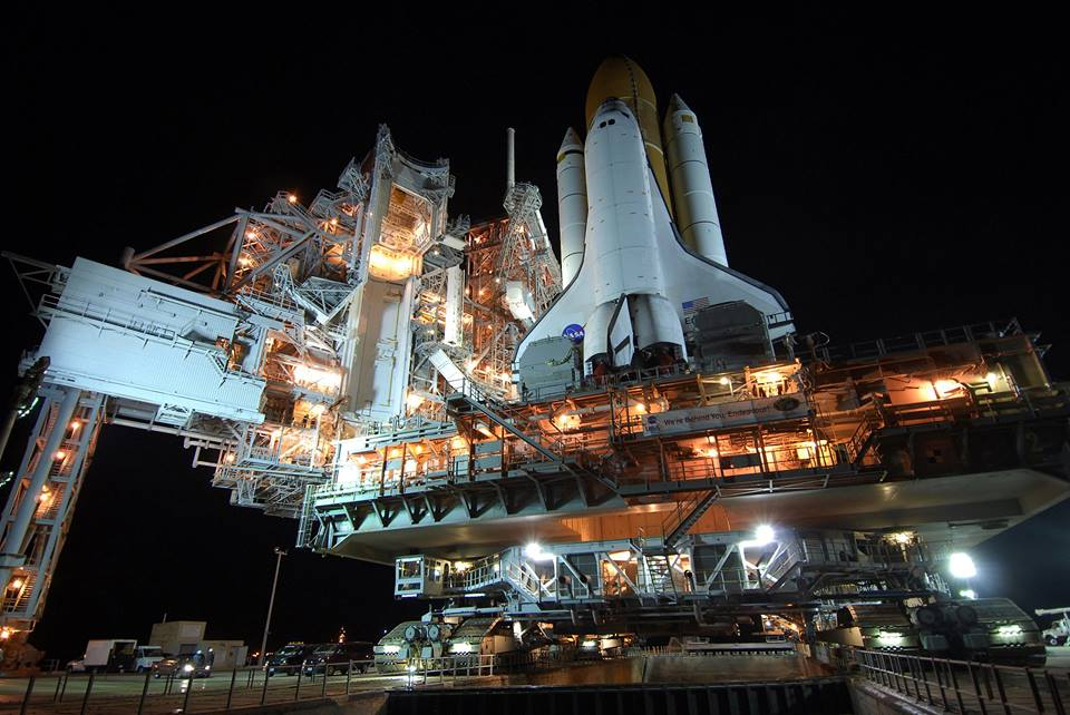 Space shuttle Launch Complex 39A Kennedy Space Center NASA photo posted on SpaceFlight Insider