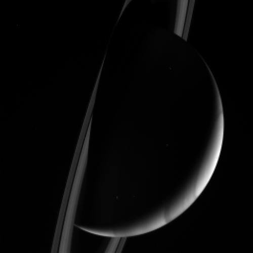 Gas giant Saturn planet image by NASA Cassini spacecraft posted on SpaceFlight Insider