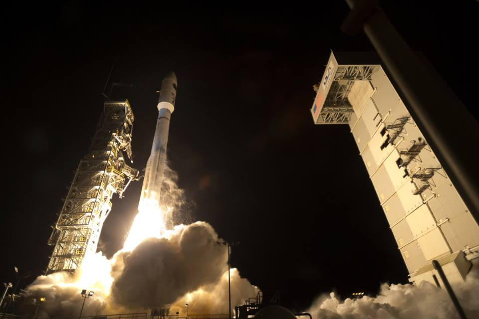 Atlas V 541 National Reconnaissance Office NROL-35 photo credit ULA posted on SpaceFlight Insider
