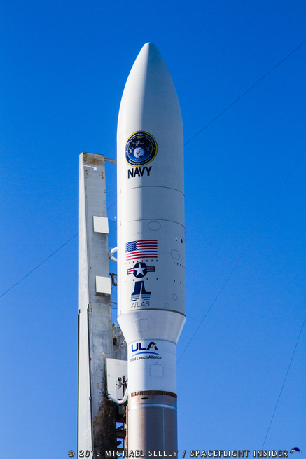 United Launch Alliance Atlas V 551 MUOS-3 satellite photo credit Michael Seeley Spacecraft