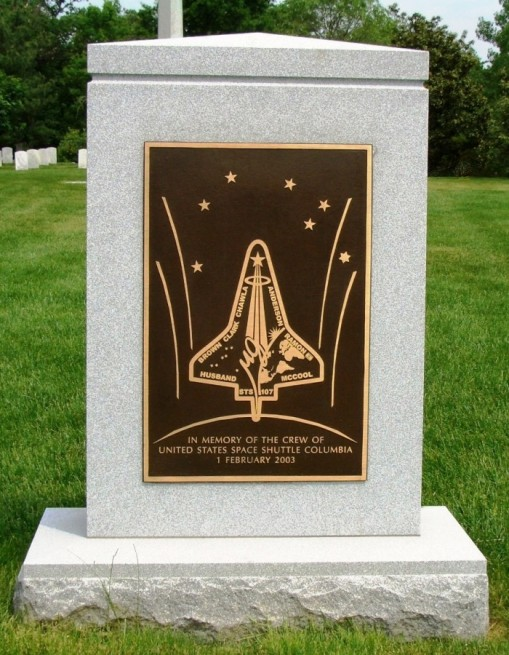 STS-107 space shuttle Columbia memorial Arlington Virginia. Photo Credit Jason Rhian SpaceFlight Insider