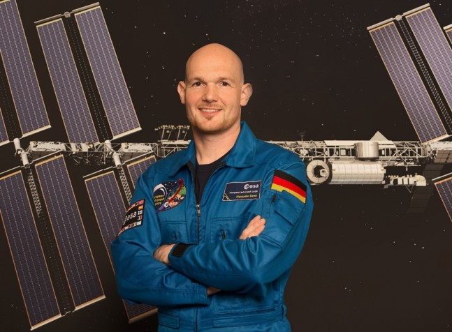 European_Space_Agency_astronaut_Alexander_Gerst ESA image posted on SpaceFlight Insider