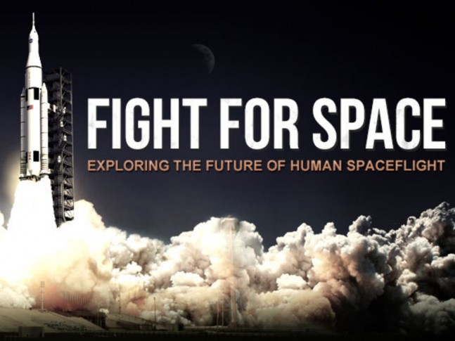 Fight for Space Kickstarter Campaign image posted on SpaceFlight Insider