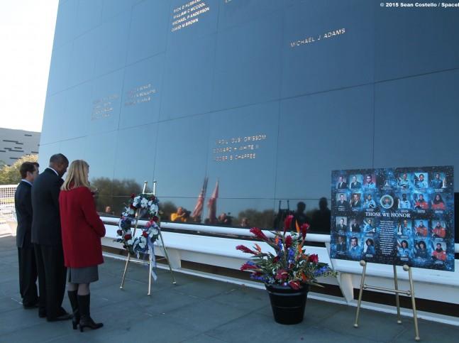 Space Memorial Mirror as seen on Spaceflight Insider