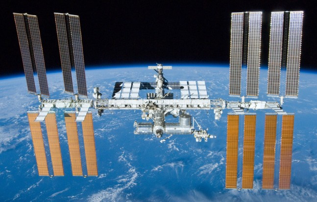 Astronauts evacuated U.S. segment of ISS following a possible ammonia leak as seen on Spaceflight Insider