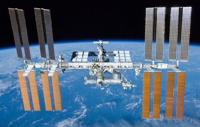 Astronauts evacuated U.S. segment of ISS following a possible ammonia leak as seen on Spaceflight Insider