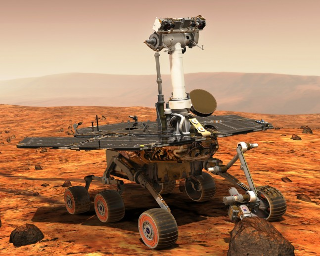 Mars Exploration Rover Spirit/Opportunity surface of Red Planet NASA image posted on SpaceFlight Insider