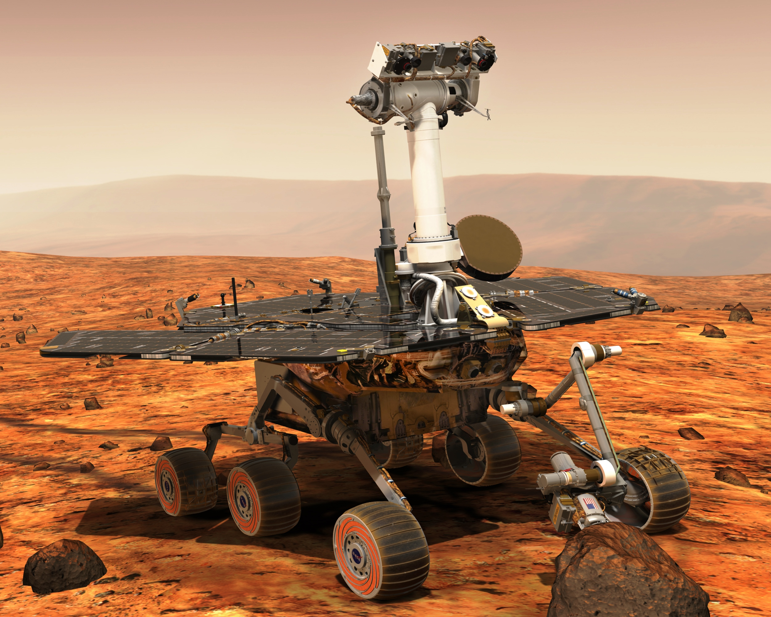 Our Spaceflight Heritage: Opportunity rover marks 13 years ...