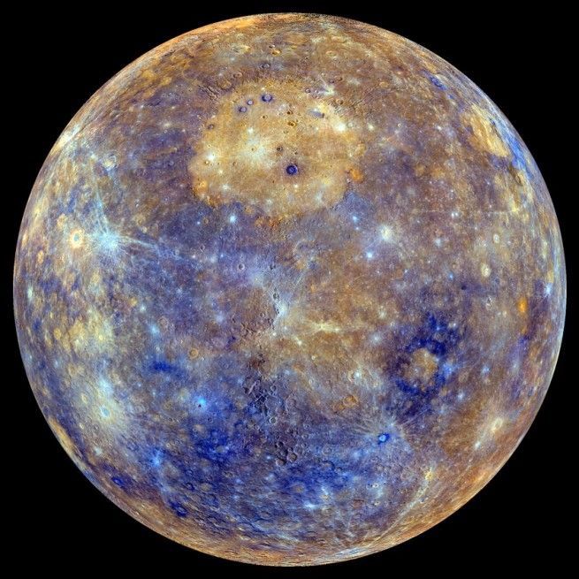 MESSENGER's final close approach of Mercury may provide even more detailed view's of the planet's surface. Image Credit: NASA / Johns Hopkins University Applied Physics Laboratory / Carnegie Institution of Washington .