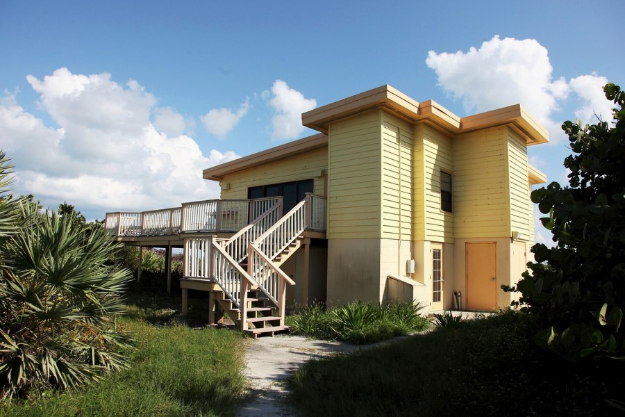 NASA Kennedy Space Center Cape Canaveral Astronaut Beach House photo credit Alan Walters Photography