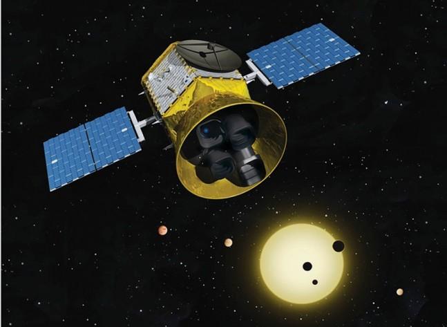 NASA TESS Transiting Exoplanet Sensing Satellite MIT image posted on SpaceFlight Insider