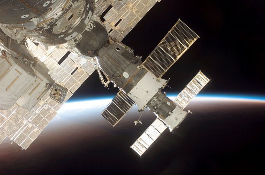 Soyuz TMA 9 ISS International Space Station ISS NASA image posted on SpaceFlight Insider
