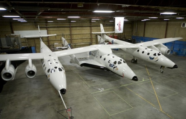 SpaceShipTwo photo credit Virgin Galactic posted on SpaceFlight Insider