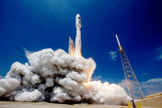 ULA Atlas V 541 NROL-67 launches from Cape Canaveral Air Force Station's Space Launch Complex 41 SLC-41 in Florida United Launch Alliance image posted on SpaceFlight Insider