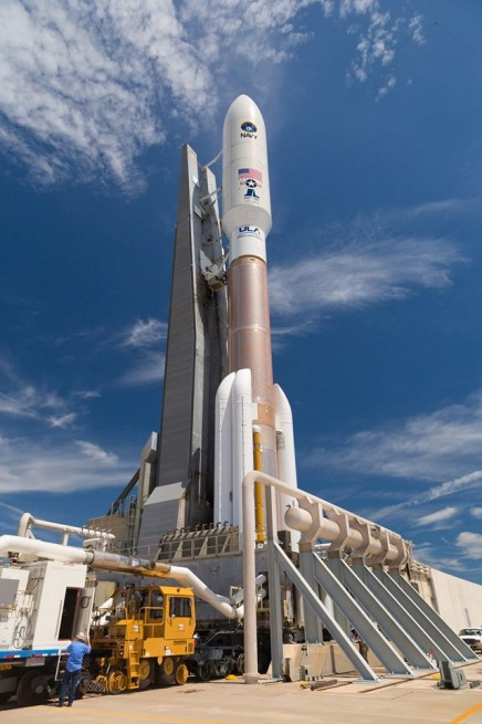ULA Atlas V 551 NROL-67 launches from Cape Canaveral Air Force Station's Space Launch Complex 41 SLC-41 in Florida United Launch Alliance image posted on SpaceFlight Insider