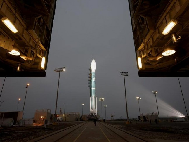 United Launch Alliance Delta II rocket Vandenberg Air Force Base California SMAP NASA photo posted on SpaceFlight Insider