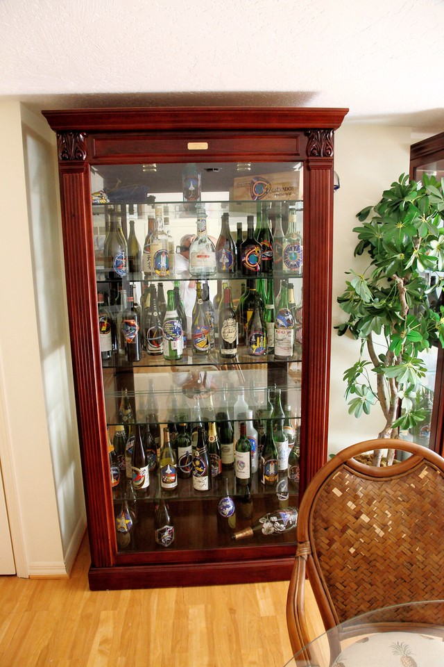 Wine Case At Nasa Kennedy E Center Cape Canaveral Astronaut Beach House Photo Credit Alan Walters