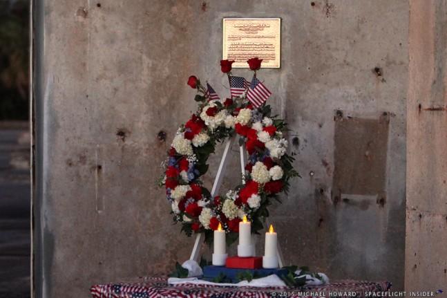 Apollo 1 memorial as seen on Spaceflight Insider