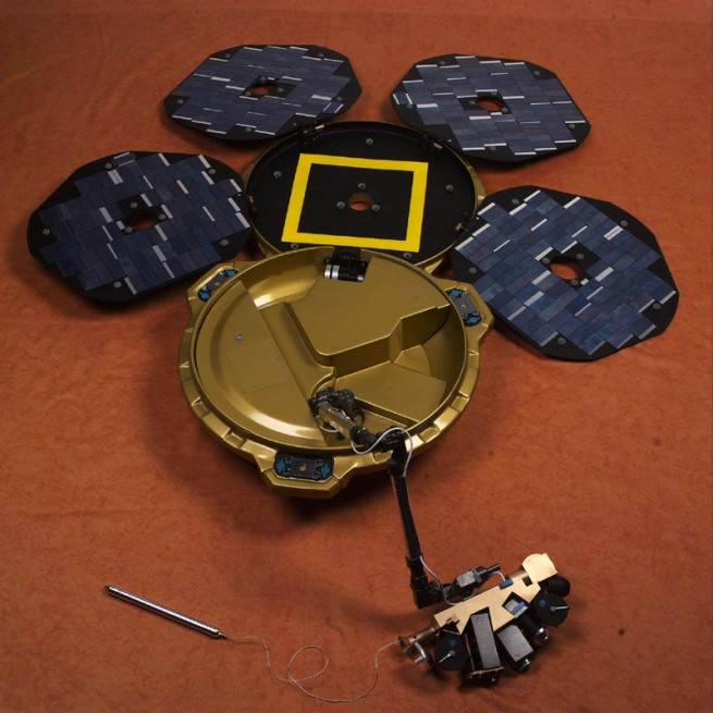 Beagle 2 Mars lander as seen on Spaceflight Insider