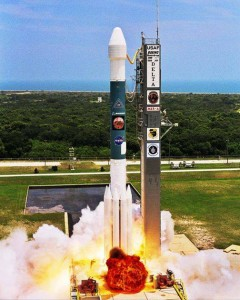 United Launch Alliance Delta II rocket as seen on Spaceflight Insider