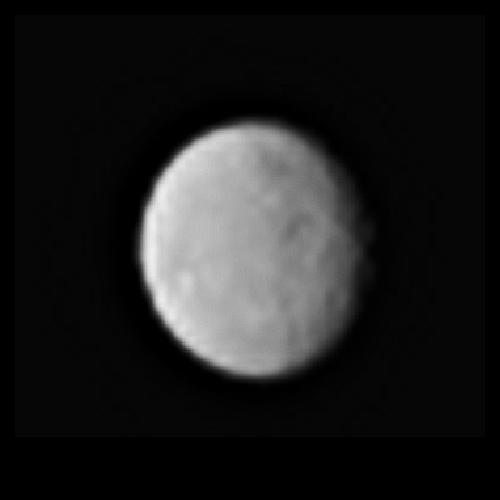Processed image of Ceres as seen on Spaceflight Insider