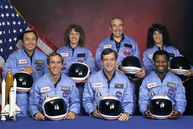 The crew of STS-51L as seen on Spaceflight Insider