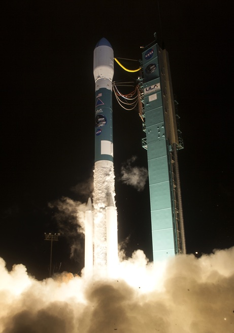 Ignition for the Delta II launch vehicle carrying NASA's SMAP payload.  Photo Credit: United Launch Alliance posted on SpaceFlight Insider