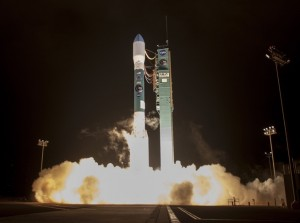 Solid Rocket Motors ignite on the Delta II launch vehicle carrying NASA's SMAP payload. Photo Credit: United Launch Alliance posted on SpaceFlight Insider