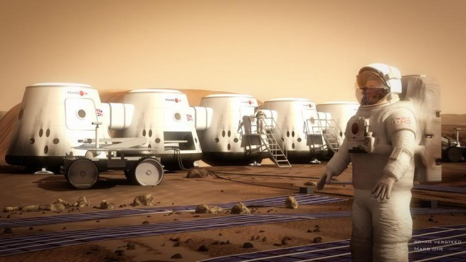Mars One habitat as seen on Spaceflight Insider