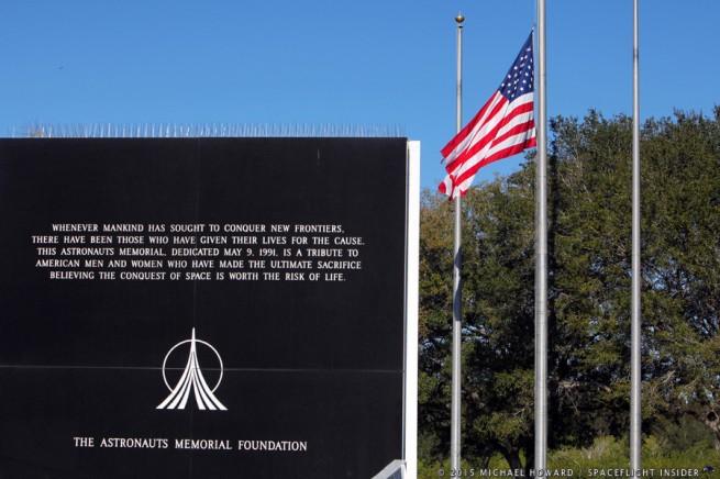 Astronaut memorial as seen on Spaceflight Insider