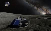 Artist rendition of Moon Express lunar lander as seen on Spaceflight Insider