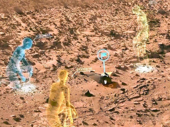 nasa-microsoft-hololens-mars image posted on SpaceFlight Insider