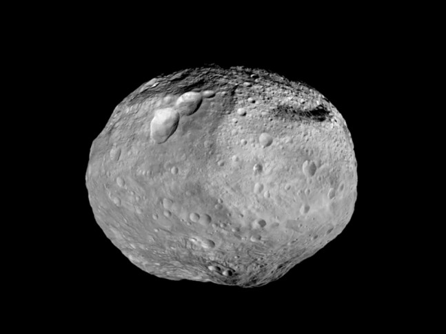 Vesta as seen on Spaceflight Insider