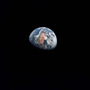 Earth as seen from space during the Apollo missions NASA photo posted on SpaceFlight Insider