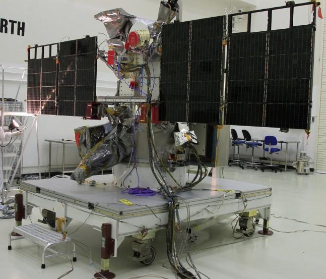 DSCOVR satellite as seen on Spaceflight Insider