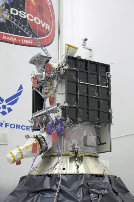 DSCOVR satellite as seen on Spaceflight Insider