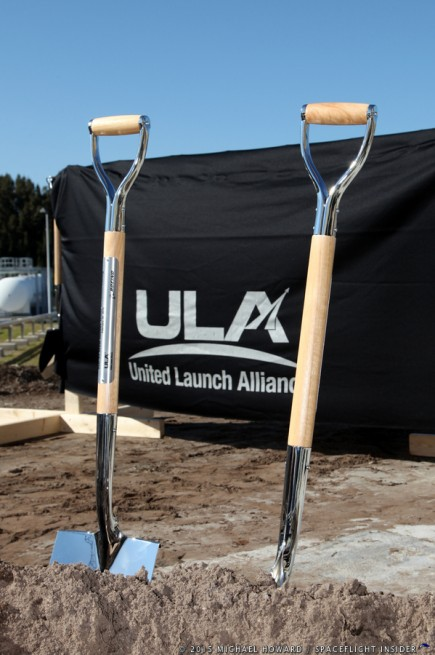 Ground breaking ceremony as seen on Spaceflight Insider