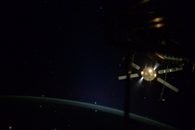 ATV-5 undocking as seen on Spaceflight Insider