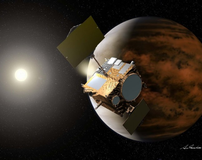 Akatsuki Japan Aerospace Exploration Agency Venus spacecraft JAXA image posted on SpaceFlight Insider