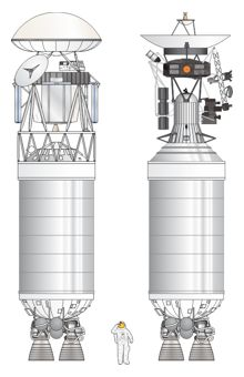 Centaur D-1T drawing as seen on Spaceflight Insider