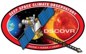 DSCOVR mission logo. Image Credit: NOAA