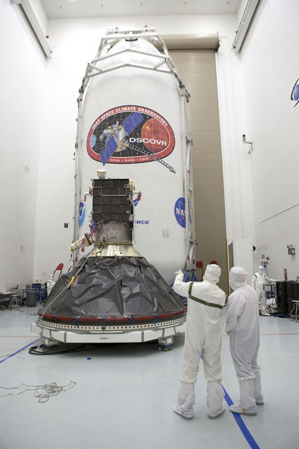 DSCOVR as seen on Spaceflight Insider
