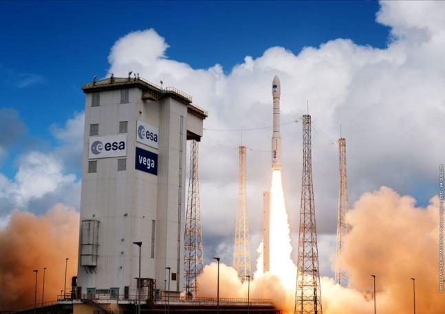 Vega rocket as seen on Spaceflight Insider