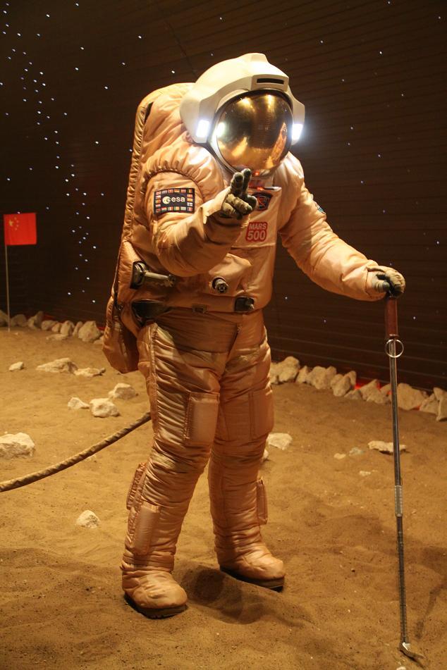 Diego Urbina, Mars500